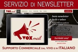 Servizi di newsletter
