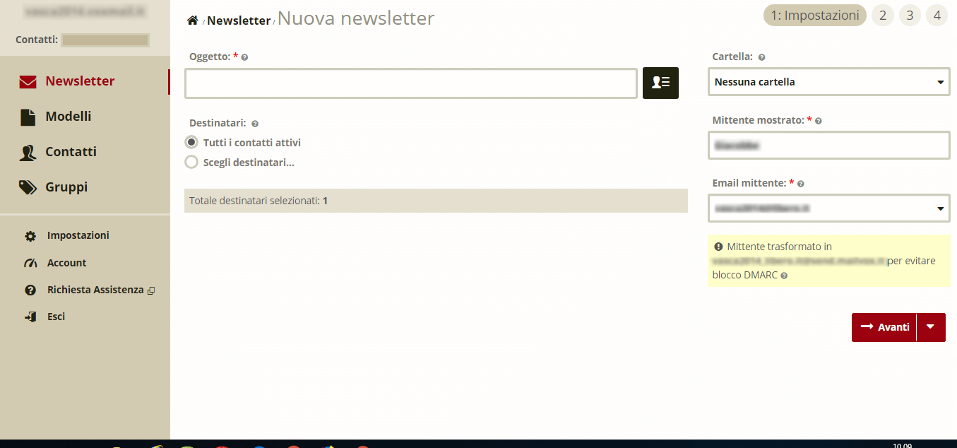 Come inviare newsletter